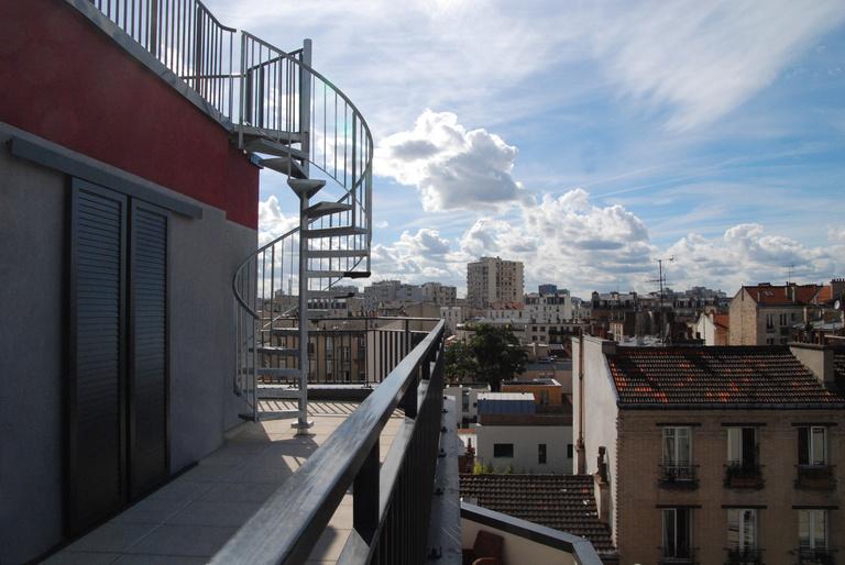 Sterenn Architecture - Réhabilitation d'un immeuble - 59 logements BBC à Saint-Ouen